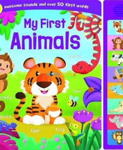 My First Animals 8 Sounds Boardbook 9781789051605 cover page (1)