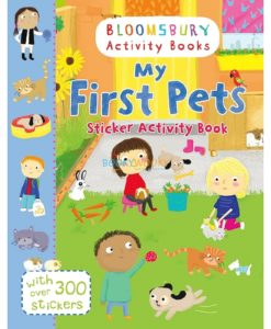 My First Pets Sticker Activity Book 9781408855225 cover page