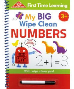 My First Wipe Clean Numbers 9781786709738