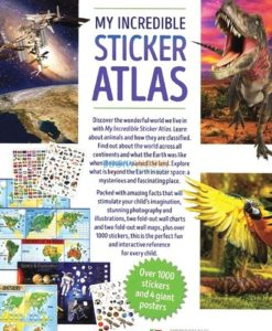 My Incredible Sticker Atlas (4 Books in 1) (3)