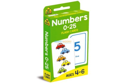 Numbers 0-25 Flash Cards 9781488933707 cover page
