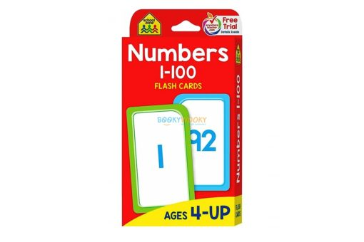 Numbers 1-100 Flash Cards 9781488933684 cover page