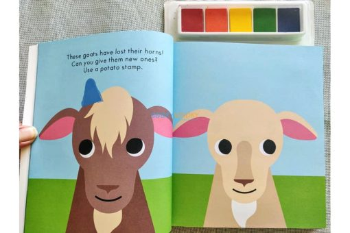 On the Farm Finger Prints Pack (5)