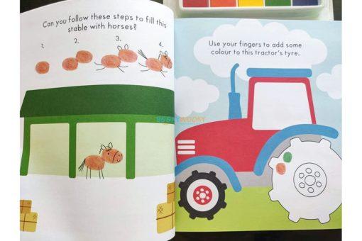 On the Farm Finger Prints Pack (7)