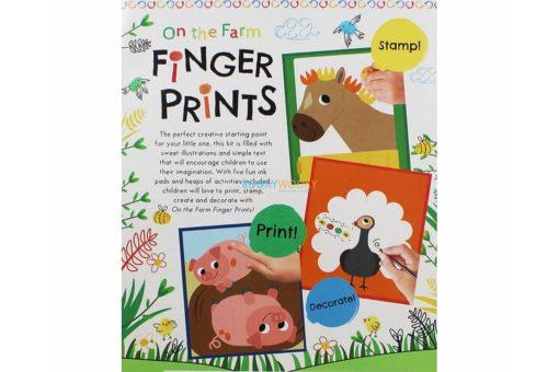 On the Farm Finger Prints Pack (9)