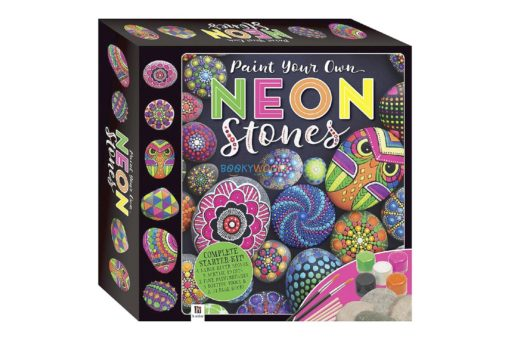 Paint Your Own Neon Stones 9781488905858 cover page