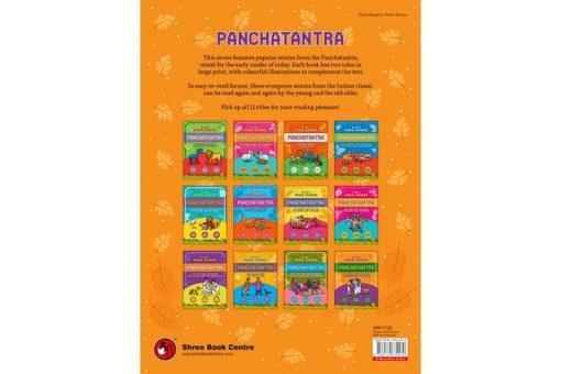 Panchatantra Crow Jackal Barber Sages 2in1 back cover
