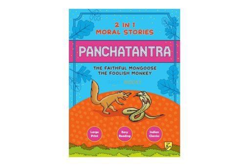 Panchatantra Faithful Mongoose Foolish Monkey 2in1 9788179634417 cover page