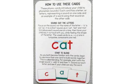 Phonics Get Set Go Flashcards Build a Word (1)