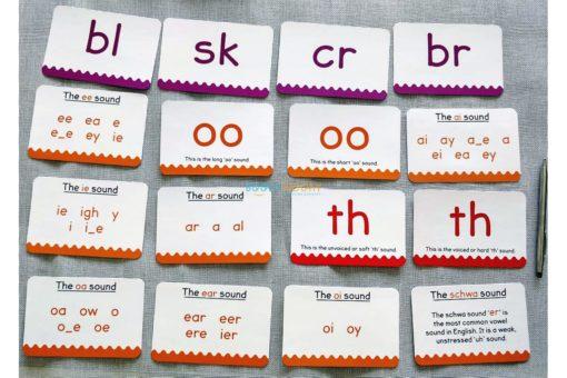 Phonics Get Set Go Flashcards Build a Word (6)