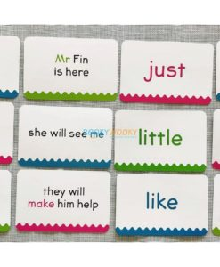 Phonics Get Set Go Flashcards Sight Words (5)