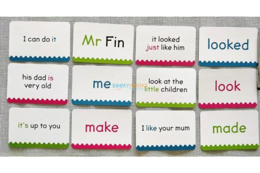 Phonics Get Set Go Flashcards Sight Words (6)