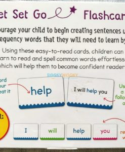 Phonics Get Set Go Flashcards Sight Words back cover (8)
