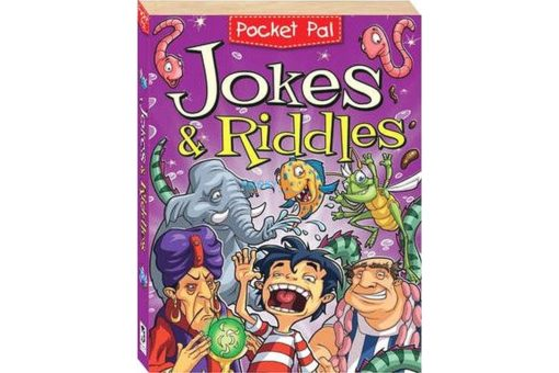 Pocket Pal Jokes & Riddles 9781741857870 cover page