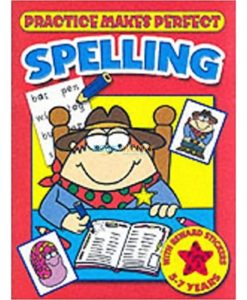 Practice Makes Perfect Spelling (Red) 9781859978603 cover page