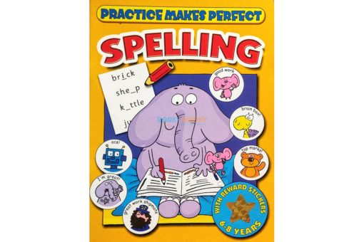 Practice Makes Perfect Spelling (Yellow) 9781859978641 cover page