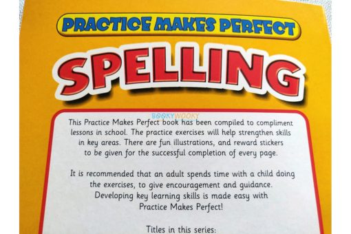 Practice Makes Perfect Spelling (Yellow) back cover