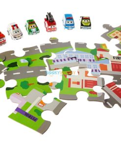Pull Back and Go Emergency Vehicles Activity Set 1