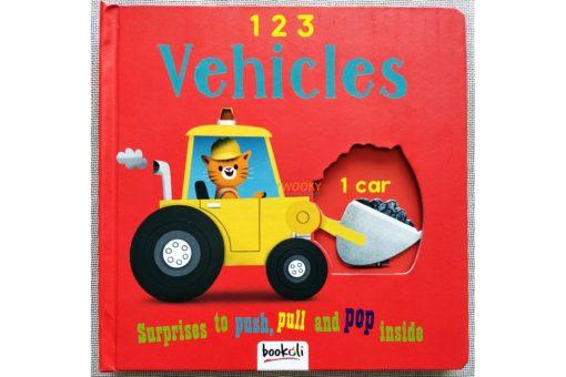 Push Pull and Pop Boardbooks (2 titles) - 1 2 3 Vehicles (1)