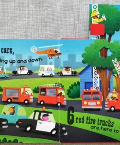 Push Pull and Pop Boardbooks (2 titles) - 1 2 3 Vehicles (3)