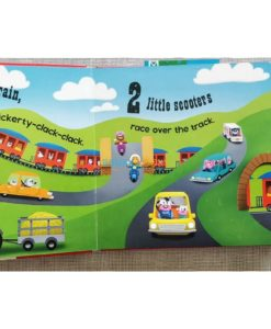 Push Pull and Pop Boardbooks (2 titles) - 1 2 3 Vehicles (5)