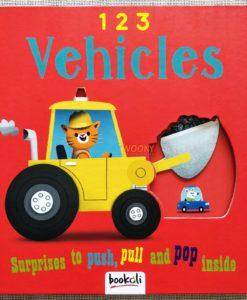 Push Pull and Pop Boardbooks (2 titles) - 1 2 3 Vehicles (6)
