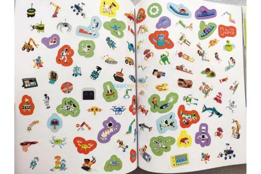 Robots and Gadgets (300 Stickers) (10)