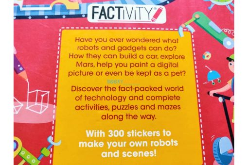 Robots and Gadgets (300 Stickers) (9)