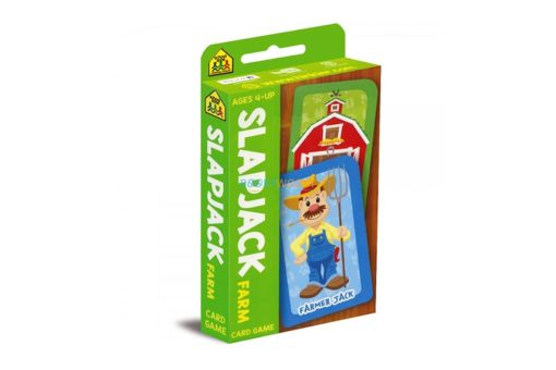 Slapjack Farm Card Game 9781488940491 cover page