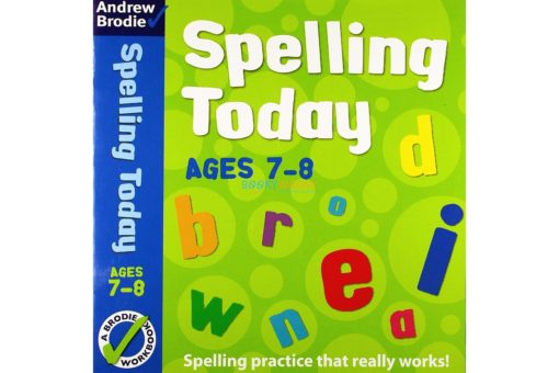 Spelling Today for Ages 7-8 Indian edition 9781408162583 cover page