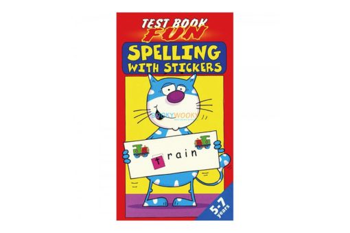 Spelling with Stickers 9781859976630 (red)