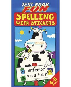 Spelling with Stickers 9781859976661 (blue)