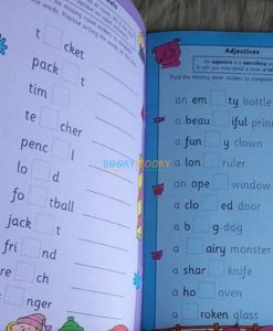 Spelling with Stickers Blue (5)