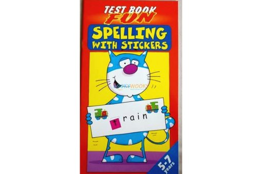 Spelling with Stickers Red (2)