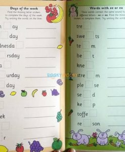 Spelling with Stickers Red (4)