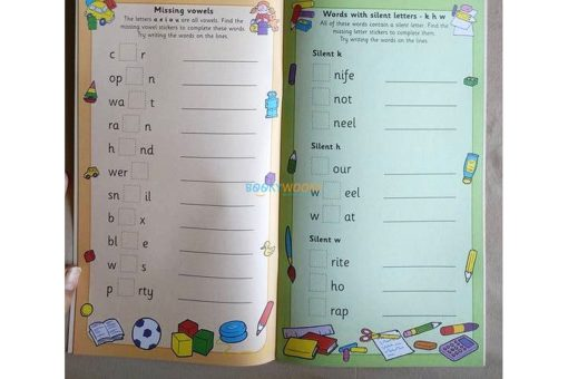 Spelling with Stickers Red (6)