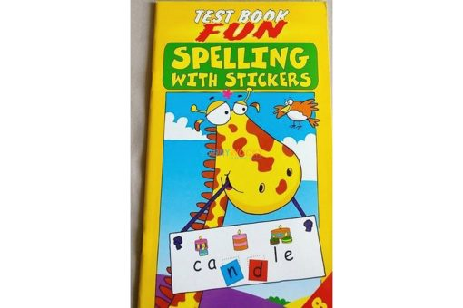 Spelling with Stickers Yellow (2)