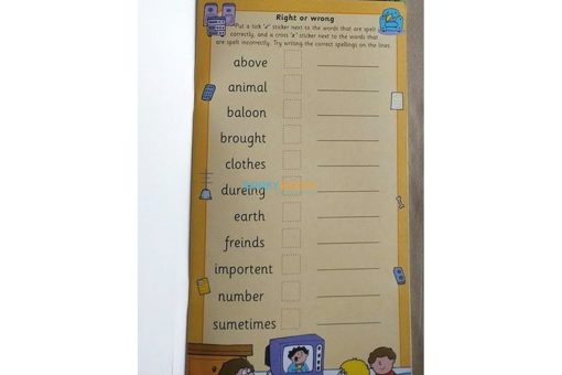Spelling with Stickers Yellow (6)