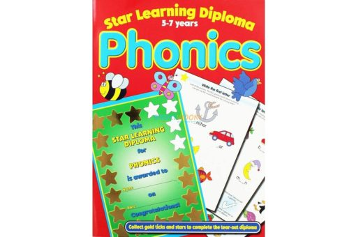 Star Learning Diploma for Phonics Star Learning 9781845310264 cover page