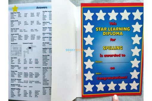 Star Learning Diploma for Spelling (Blue) (1)
