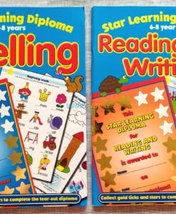 Star Learning Diploma for Spelling (Blue) (4)