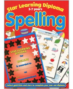 Star Learning Diploma for Spelling (Red) 9781845310288 cover page