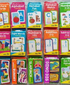 Subtraction 0-12 Flash Cards 1