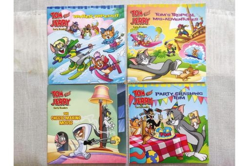 Tom and Jerry Early Readers The Cheese Making Mouse (4)