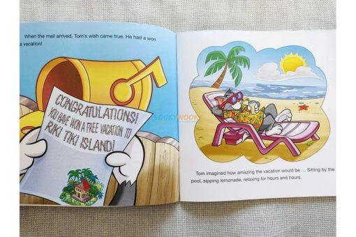 Tom and Jerry Early Readers Tom's Tropical Mis-Adventures (2)