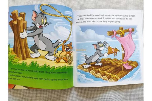 Tom and Jerry Early Readers Tom's Tropical Mis-Adventures (3)