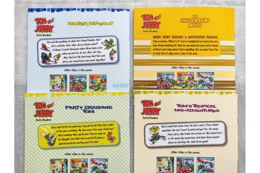 Tom and Jerry Early Readers Tom's Tropical Mis-Adventures (5)