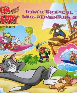 Tom and Jerry Early Readers Tom's Tropical Mis-Adventures 9789388384919 (1)