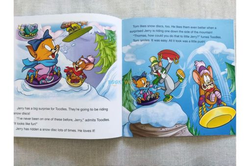 Tom and Jerry Early Readers Winter Wipeout (3)