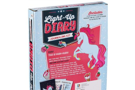 Unicorn Light Up Diary Journaling Kit (2)